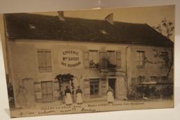 Carte Postale Ancienne - OULCHY-LA-VILLE - Maison LOISET, EPICERIE-Epicerie -Café-Restaurant  1915 - Cafés
