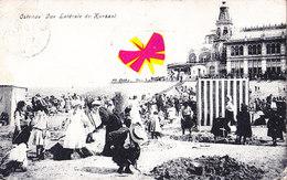 OSTENDE - Vue Latérale Du Kursaal - Carte Très Animée Et Circulé En 1908 - Oostende