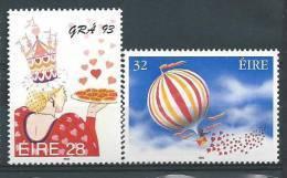 Irlande 1993 N°818/819 Neufs **messages D'amour - 1949-... Repubblica D'Irlanda