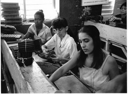 Photo Cuba Pinar Del Rio Salle De Fabrication De Cigares Photo Vivant Univers - Orte