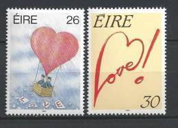 Irlande 1990 N°703/704 Neufs ** Messages D'amour - 1949-... Repubblica D'Irlanda