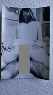 Ee. Couple - Vintage Gelatin Silver Erotic Photo  -  Ca. 1960s    6 Cm X 9 Cm - Beauté Féminine (1941-1960)