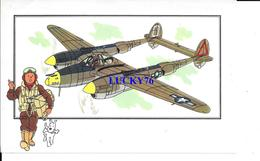 Voir Et Savoir Par Herge Aviation Lockheed P 38 Lightning 1939 U S A Collection Des Tintins - Avions