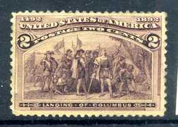 1893 STATI UNITI N.101 * Gomma Parziale - Unused Stamps