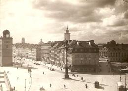 Polen : Warszawa --- Plac Zamkowy Fot.Z. Siemaszko  1957 - Pologne