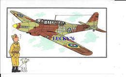 Voir Et Savoir Par Herge Aviation Fairey Battle 1936 Grande Bretagne Collection Des Tintins - Avions