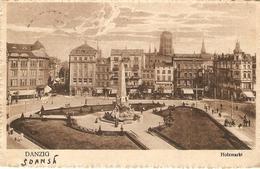 Polen : Danzig ( Gdansk ) -- Holzmarkt - Pologne