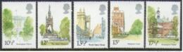 "-Great Britain-(1980)-""Buckingham Palace Etc.""- MNH (**) - 1952-.... (Elizabeth II)"
