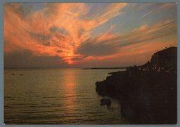 °°° Cartolina - S. Maria Al Bagno Tramonto Viaggiata °°° - Lecce