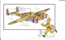 Voir Et Savoir Par Herge Aviation Breguet 691 1938 France Collection Des Tintins - Avions