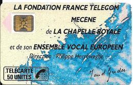 CARTE-PUBLIC-1989-50U-F75-SC4On-CHAPELLE ROYALE-2-6Pe 895839-UTILISE-TBE - 1989