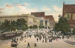 Polen : Breslau ---  Blick In Die Schweidnitzerstrasse - Pologne