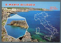 °°° Cartolina - S. Maria Di Leuca Vedute Viaggiata °°° - Lecce