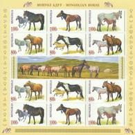 Mongolia 2015 Mongolian Horse S/s MNH - Mongolei