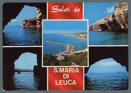 °°° Cartolina - Saluti Da S. Maria Di Leuca Vedute Viaggiata °°° - Lecce