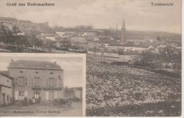 57 - RODEMACK - 2 VUES - VUE GENERALE +  RESTAURANT TERVER-HERFELD - Other Municipalities