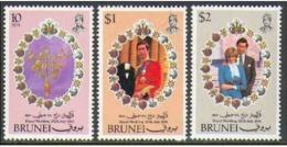 "-Brunei -1981- ""Princess Diana's Wedding""- M.N.H. (**) - Brunei (1984-...)"