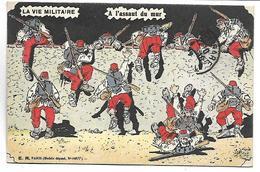 LA VIE MILITAIRE - A L'assaut Du Mur - Umoristiche