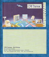 B11-E15 - Billet échantilon CP8 Transpac Vert 143x80mm - Specimen