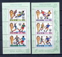 Corée (korea) - 153 - BLOCS N° 132/133 Football (Soccer) COUPE DU MONDE 1994 USA Cote 9 Euros - Football