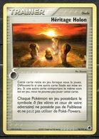 Carte Pokemon Trainer Heritage Holon (stade) / Édition Ex : Île Des Dragons / N°74/101 - Pokemon