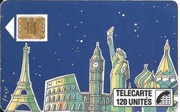 CARTE-PUBLIC-1989-F 60-120U-SC3-3/89-LUCY-(2tt A Monttessuy)-V° 6 Pé 105063--UTILISEE-TBE - 1989