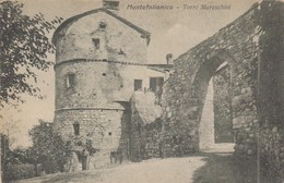 MONTEFOLLONICO-TORRITA-SIENA-TORRE MORESCHINI-CARTOLINA NON VIAGGIATA-DATATA AL RETRO 18-9-1919 - Siena