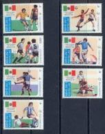 Laos 91 N° 617/23 Sport Football (Soccer) Coupe Du Monde Mexico 1986 Cote 8.80 - Football