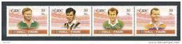 Irlande 2001 N°1369/1372 Neufs ** Joueurs De Hurling Et De Football - Unused Stamps