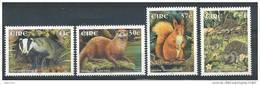 Irlande 2002 N°1431/1434 Neufs ** Animaux - Unused Stamps