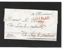 1807 Paris  Avec Cachet De Franchise - Storia Postale