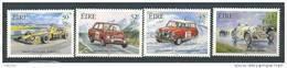 Irlande 2001 N°1331/1334 Neufs **  Sport Automobile, Voitures De Course - Unused Stamps