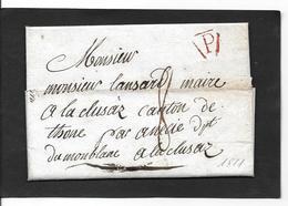 1811  P De  Paris - Storia Postale