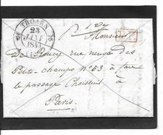 1843 TROARN   PP - Storia Postale