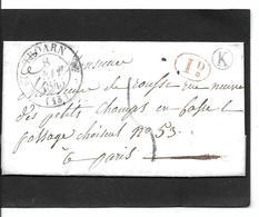 1845 TROARN   Id - Storia Postale