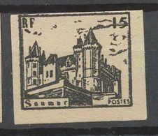 0013/ France Grève De Saumur 1953 Essai (proof) Non Dentelé (imperforate) Neuf - Strike Stamps