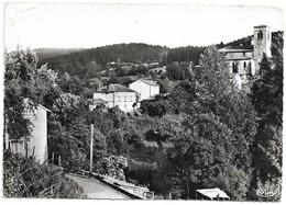 63 Auzelles Vue Sur L'Eglise (2 Scans) - Other Municipalities