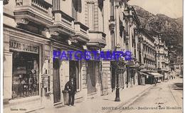 130065 MONACO MONTE CARLO BOULEVARD MOULINS POSTAL POSTCARD - Monaco