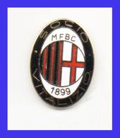 Milan Socio Vitalizio Calcio FootBall Italy Broches Pins Stifte Fußball Pasadores De Fútbol Revaival - Calcio