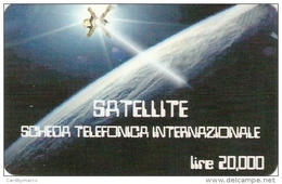 *ITALIA* -  Scheda Usata - Ruimtevaart