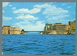 °°° Cartolina - Taranto Ponte Girevole Sul Canale Navigabileviaggiata °°° - Taranto