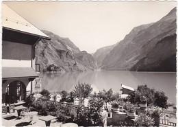 63 :le  LAC CHAMBON : Depuis La Terrasse De L'hotel : ( C.p.s.m. - Photo Véritable  - Grand Format ) - - Other Municipalities