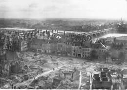 45 - ORLEANS Après La Guerre ( MILITARIA ) Vue Aérienne Vers Le Pont Georges V  - CPSM Dentelée GF - Loiret - Orleans
