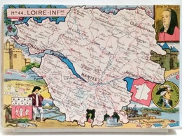 CARTE GEOGRAPHIQUE PINCHON N° 44 - LOIRE INFERIEURE - BLONDEL LA ROUGERY 1945 - France