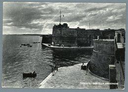 °°° Cartolina - Taranto Castello Aragonese Viaggiata °°° - Taranto