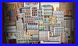 Départ 1 Euro (lot 4a) THEMATIQUE Collection De + 100 Blocs  Forte Cote Jeux Olympiques Animaux De Gaulle  Napoleon - Timbres