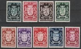 716/724 Wapensvhilden/Armoiries Des Neuf ** - Bélgica