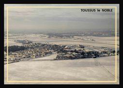 78  TOUSSUS  Le  NOBLE   .. Sous La Neige   - - Toussus Le Noble