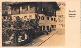 ZELL AM SEE AUSTRIA~HIMMERWIRTS GASTGARTEN~1930s PHOTO POSTCARD - Zell Am See