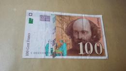 France - Billet 100 Francs Cézanne - 1992-2000 Ultima Gama